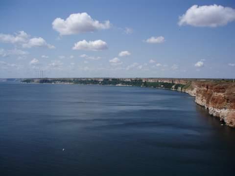vista desde el cabo Kaliakra hacia el sur