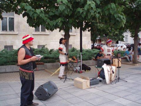 Música andina en Ruse