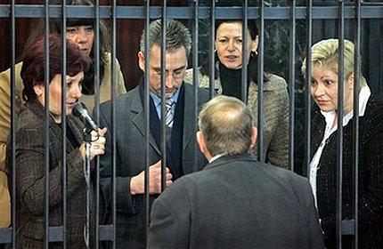 Foto de las enfermeras búlgaras condenadas en Libia