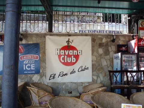 anuncio del Havana Club