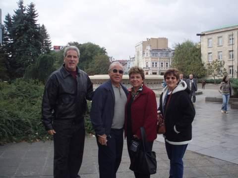 turistas cubanos en Ruse