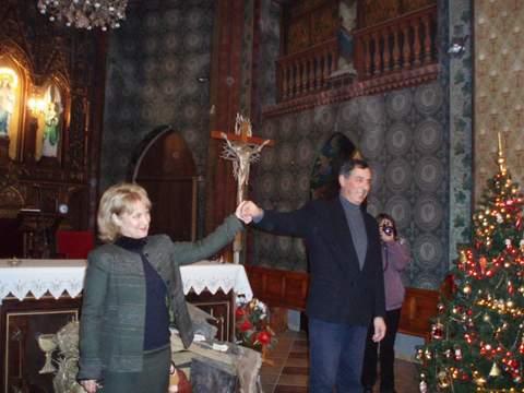La soprano Violeta Shajánova y el organista Velín Ilíev